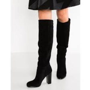 Sam Edelman Victoria Tall Suede Slouch Boot